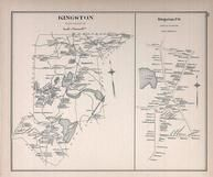 Kingston, Kingston Town, New Hampshire State Atlas 1892 Uncolored